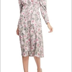 Gal Meets Glam, Romantic Floral Print Dress Size 4